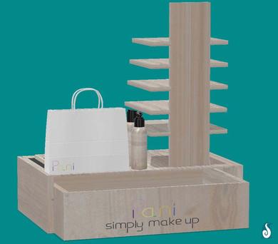 Pani Cosmetics - Retail stand