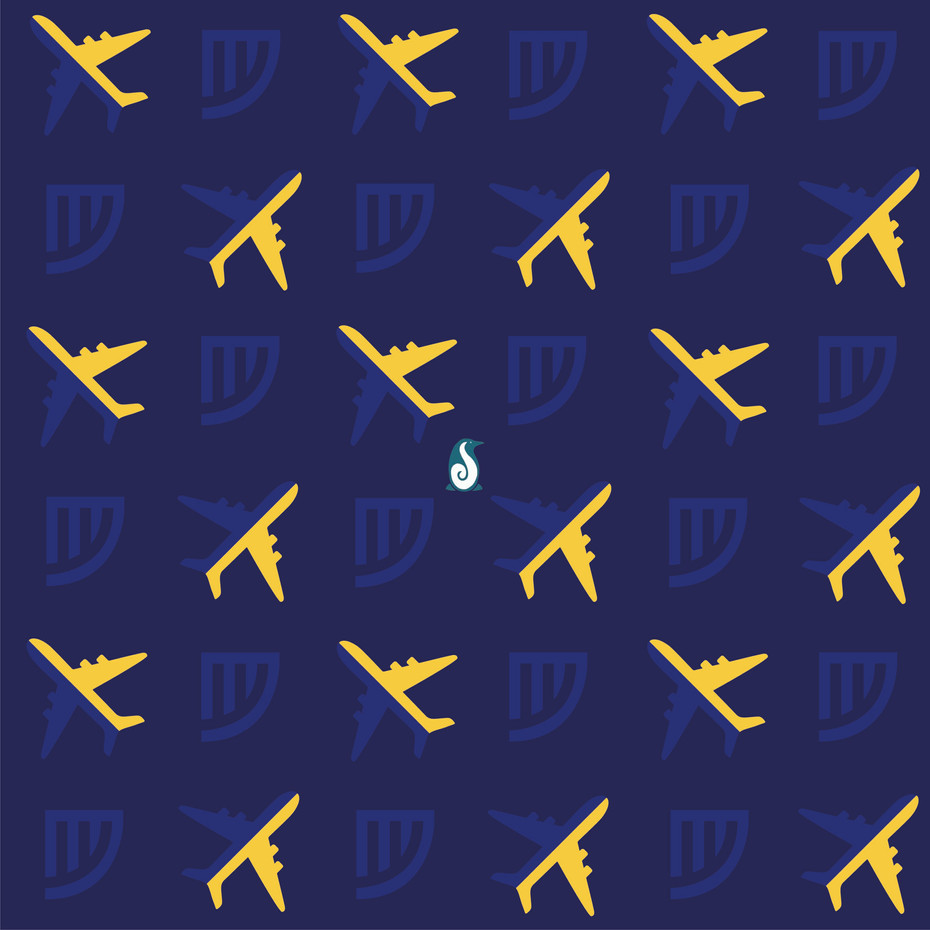 Ryanair - Pattern Design