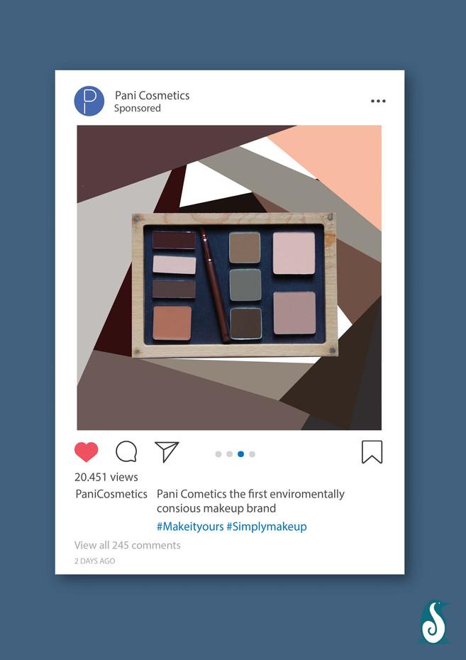 Pani Cosmetics - Instagram ad 3