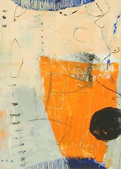Orange Urn I