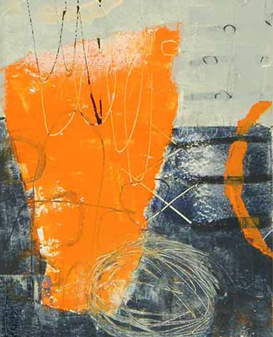 Orange Urn II
