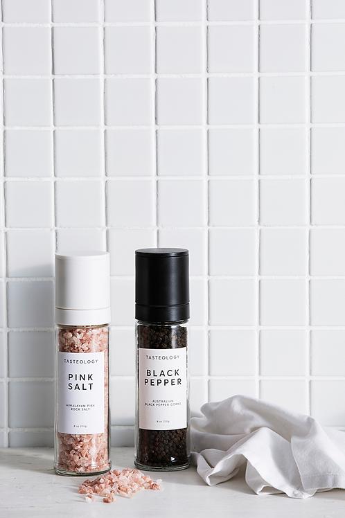 Pink Salt Grinder by Tasteology