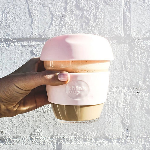 Think coffee cup blush
