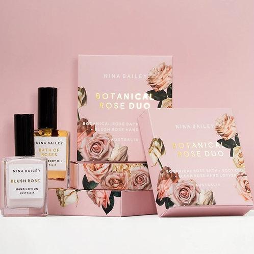 Botanical Rose Duo