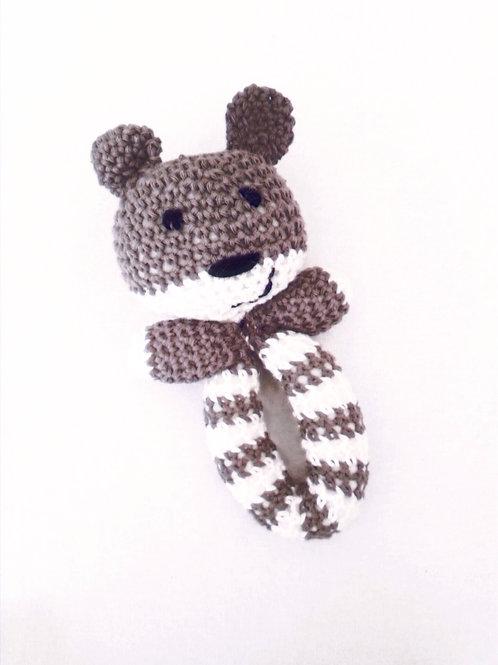 Teddy Rattle toy