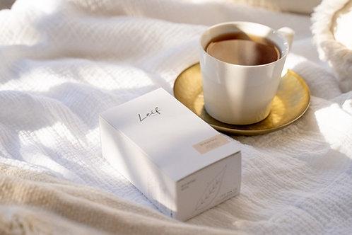 Breakfast tea by Leif Tea Co