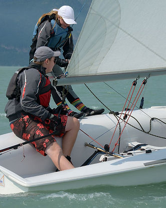 420 sailing in Squamish