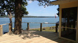 Custom Skaneateles Lake Deck
