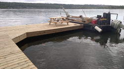Cayuga Lake Open Pile Dock