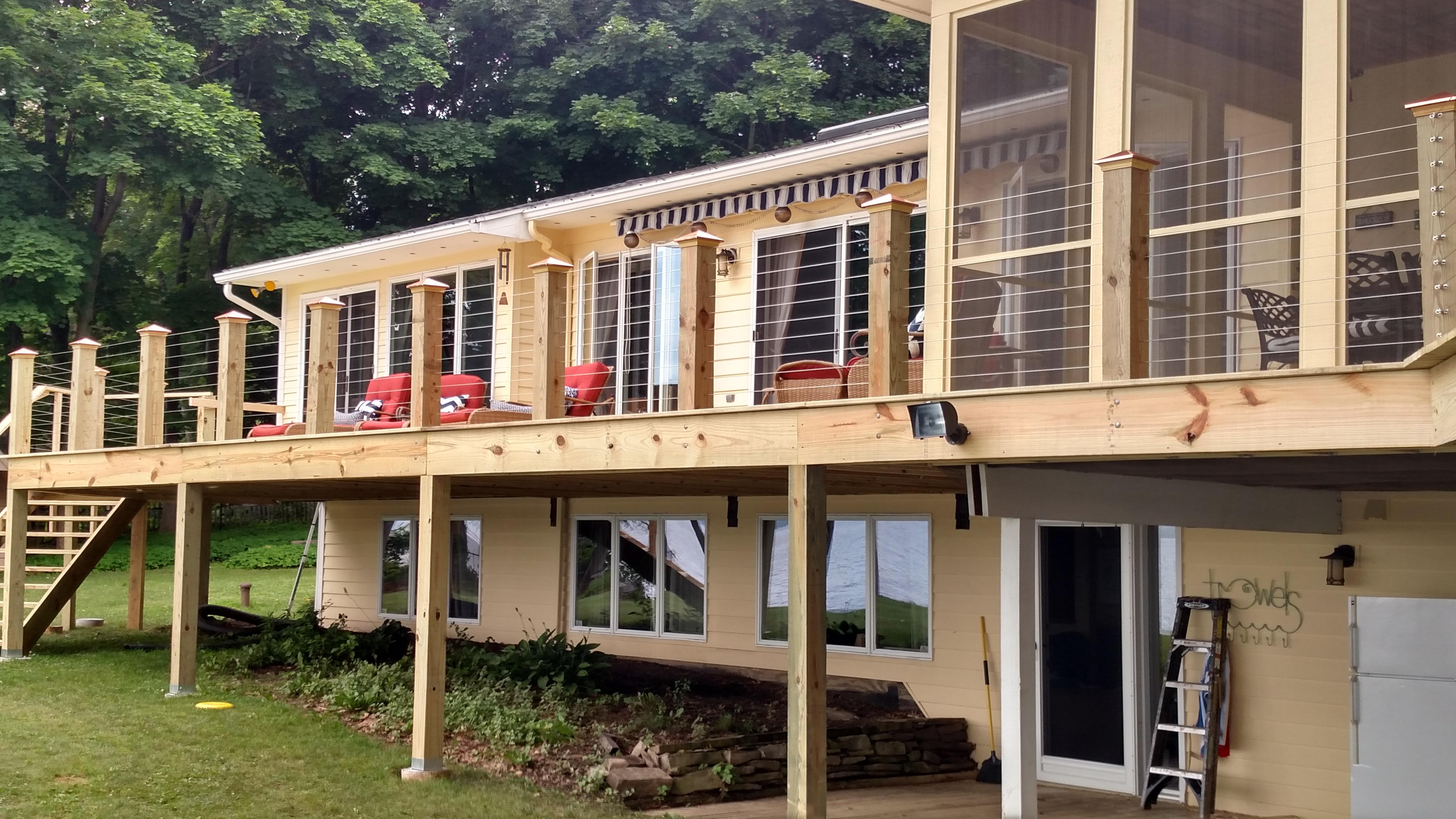 Rochester Deck builder.