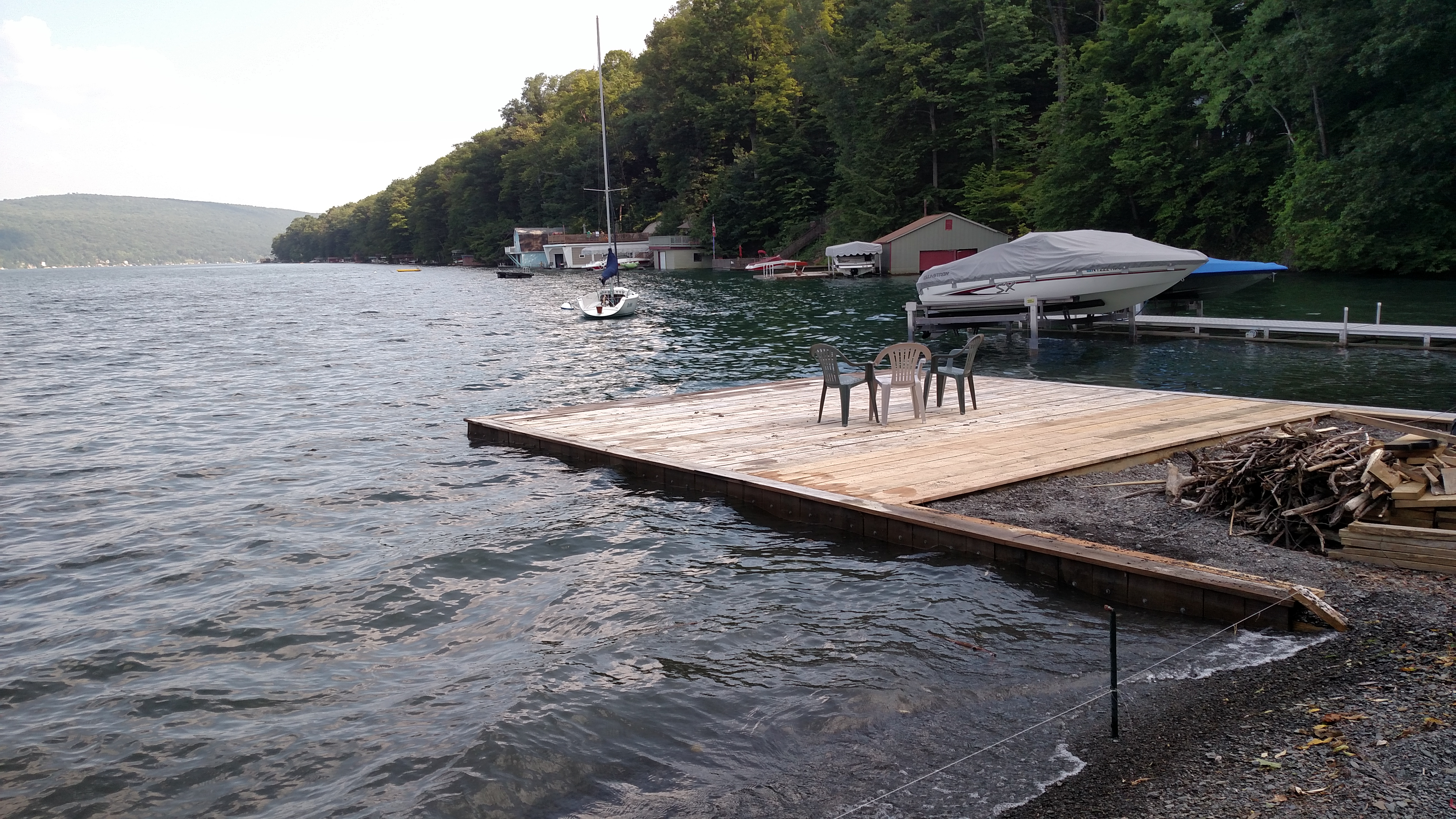 Skaneateles Docks.