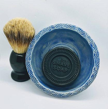 Artisanal Shea Butter and Badger Hair Shave Set