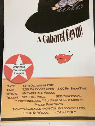 2013 - A Cabaret Revue