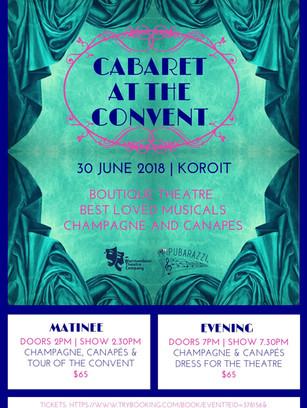 2018 - Cabaret at the Convent
