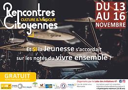 Affiche Rencontres Citoyennes - Nov 2018