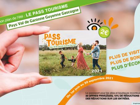 Pass tourisme Pays Val de Garonne Guyenne Gascogne 2021