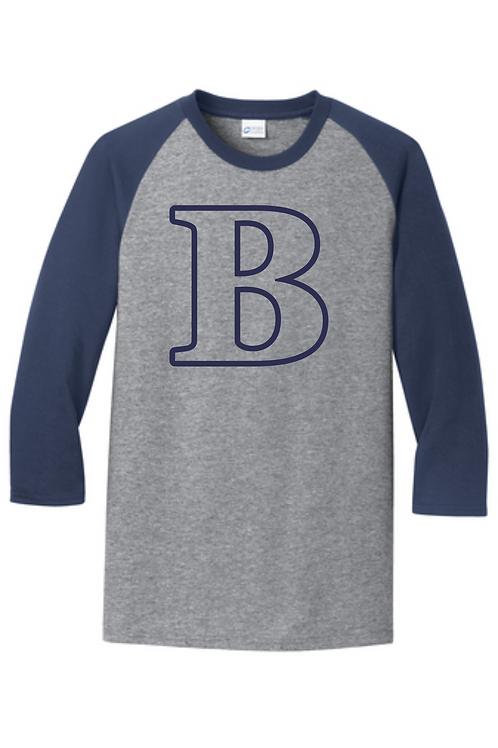 B Baseball Tee