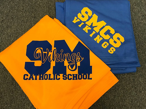 SMCS Sweatshirt Blanket