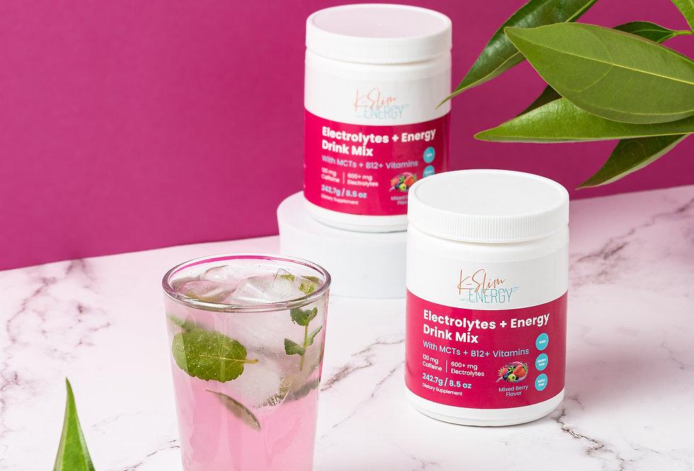 Electrolytes + Energy Powder