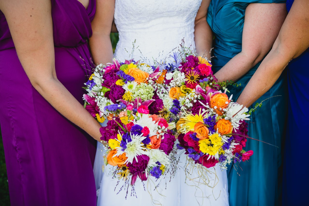 Lisa's Bridesmaids Bouquets