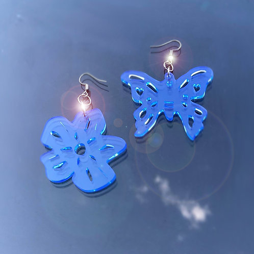Papillon & fleur