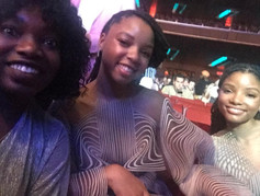 Keama and chloe and halle at mtc