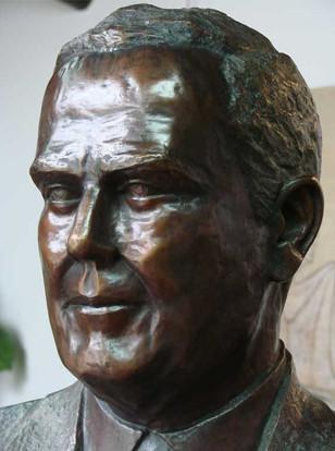 Busto em Bronze - Detalhe