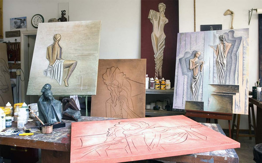Atelier do Escultor no Brasil
