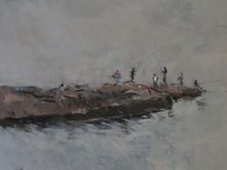 Fishermen on the Quay