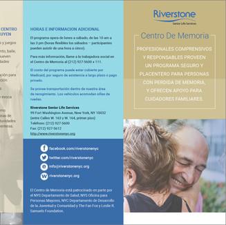 RIVERSTONE SENIOR SERVICES