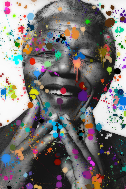 Mandela Colour Splash