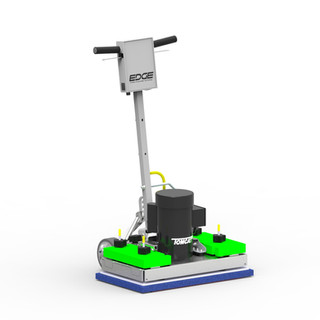 Strip and seal floor machines