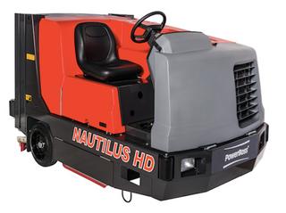 Diesel floor sweepers