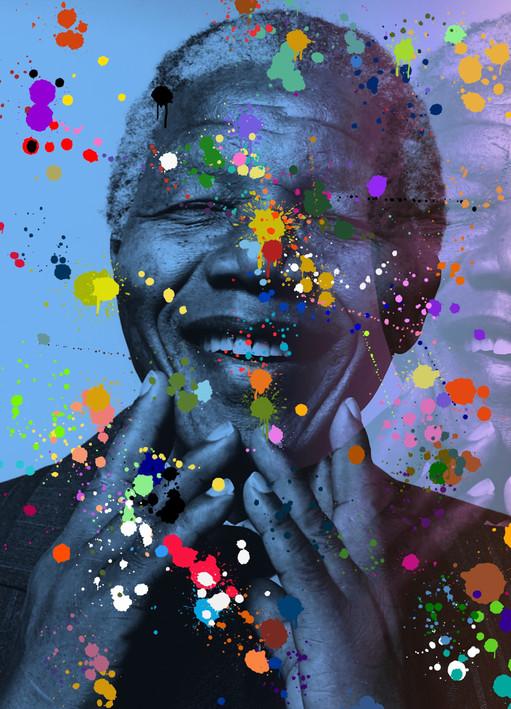 Mandela Blue