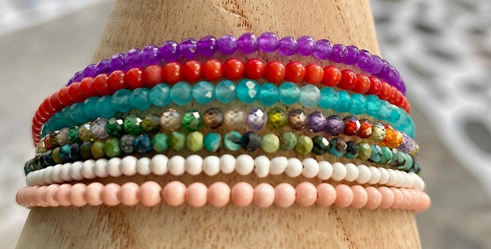 Delicate Semi precious bracelet