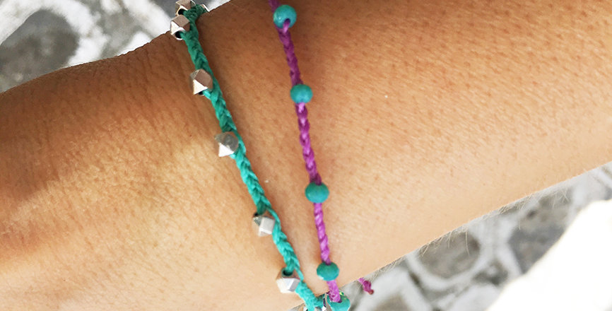 Multi beads bracelet