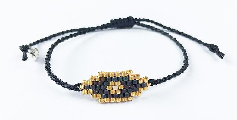 Long Miyuki Eye bracelet/ring