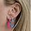Thumbnail: Colorful Enamel Earrings