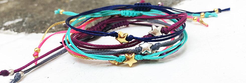 A star bracelet/anklet
