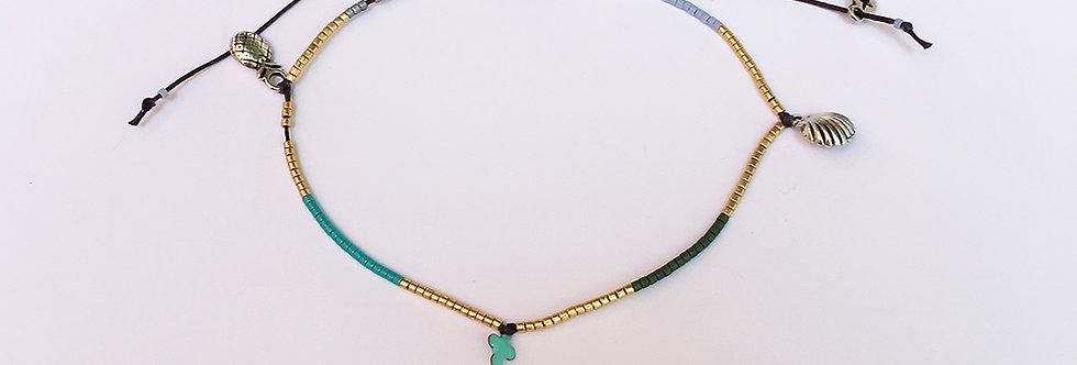 Miyuki and charms Bracelet/Anklet