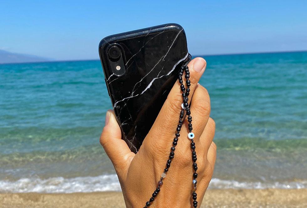 Beaded Short Phone Chain