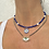Thumbnail: Agate and evil eye necklace