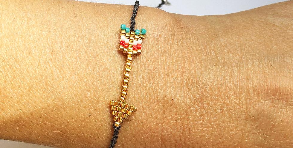 Miyuki Arrow bracelet