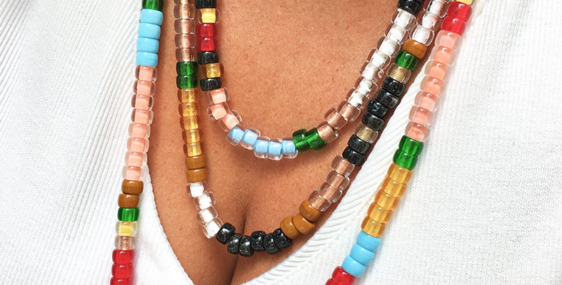 Czech Glass Beaded necklace