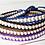Thumbnail: Single wrap cylinder bead bracelet