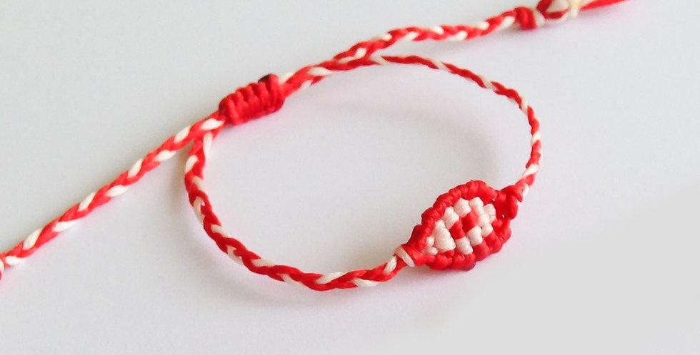 Martis Weaved Eye Bracelet