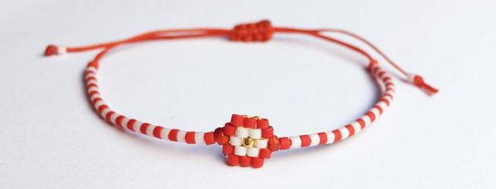 Martis Miyuki Flower Bracelet
