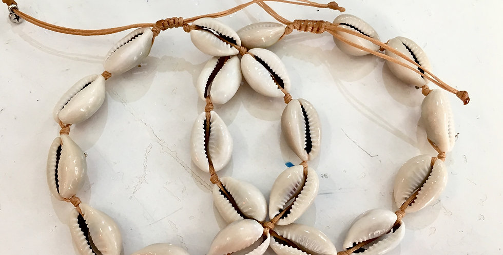 Natural Shell Anklet