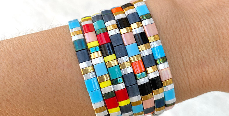 Miyuki Glass Bead Bracelet