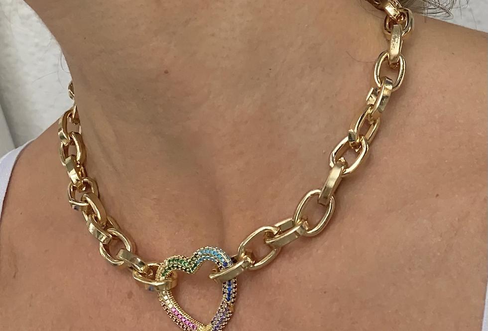 Love heart chain